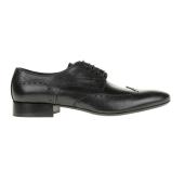 PERLAMODA - Ανδρικά δετά παπούτσια PERLAMODA μαύρα image