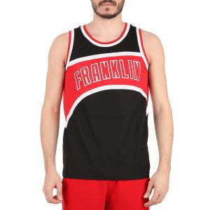 FRANKLIN & MARSHALL - Ανδρική αμάνικη μπλούζα FRANKLIN & MARSHALL μαύρη