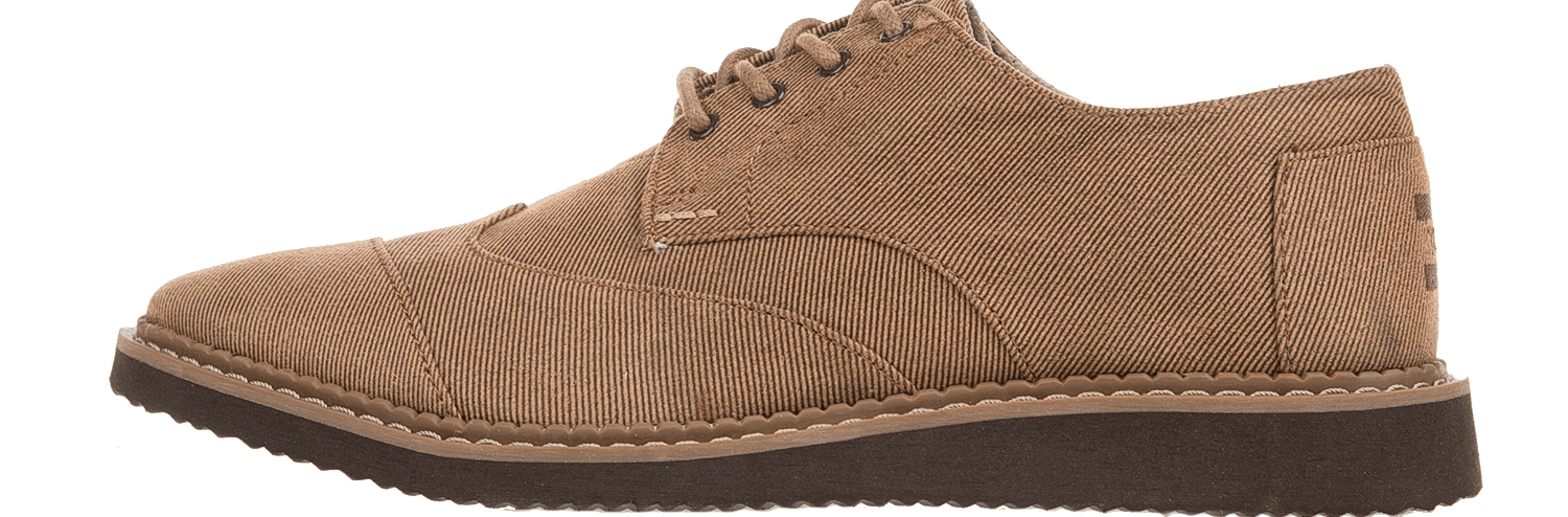 TOMS - Ανδρικά δετά παπούτσια TOMS TOFFEE AVIATOR καφέ