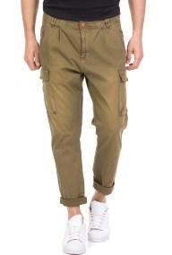 SCOTCH & SODA - Ανδρικό παντελόνι cargo SCOTCH & SODA χακί