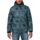 EMERSON - Ανδρικό μπουφάν EMERSON μπλε με print image