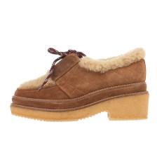 CASTANER - Γυναικεία δετά παπούτσια CASTANER NEIJANG καφέ