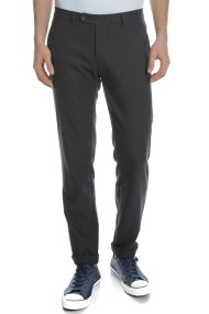 TED BAKER - Ανδρικό παντελόνι TED BAKER MEXCA TWO TONAL TEXTURED μπλε