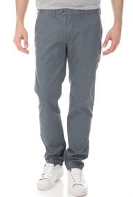 TED BAKER - Ανδρικό παντελόνι SLADRID SLIM FIT PRINTED CHINO μπλε