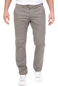 TED BAKER - Ανδρικό παντελόνι chino TED BAKER SEENCHI SLIM FIT γκρι
