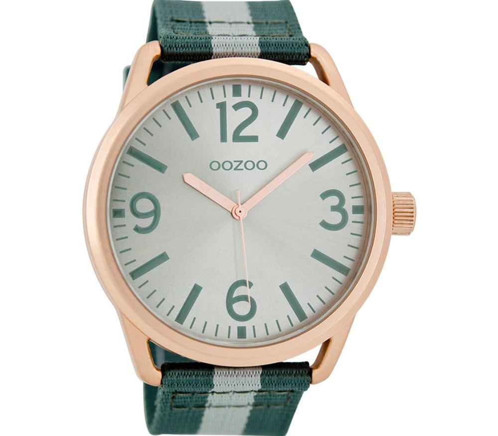 OOZOO - Ρολόι OOZOO πράσινο / ΡΟΛΟΙ ΧΕΙΡΟΣ