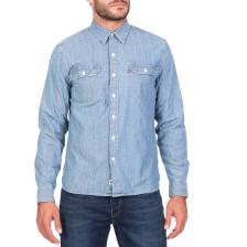 LEVI'S - Ανδρικό τζιν πουκάμισο LEVI'S JACKSON WORKER GUARDSMAN γαλάζιο