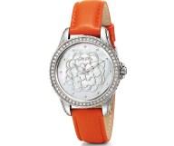 FOLLI FOLLIE - Γυναικείο ρολόι Folli Follie SANTORINI FLOWER πορτοκαλί