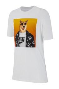 NIKE - Παιδικό t-shirt NIKE Sportswear Boys' Graphic λευκό