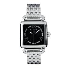 LINKS OF LONDON - Γυναικείο ρολόι μπρασελέ DRIVER SQUARE ασημί