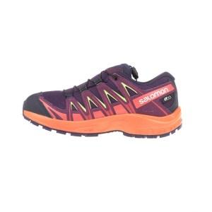 ... απο το Factory Outlet. SALOMON - Παιδικά αθλητικά παπούτσια SALOMON  KIDS SHOES XA PRO 3D CSWP μοβ - πορτοκαλί 268399c541f