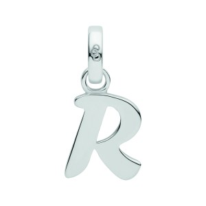 LINKS OF LONDON - Ασημένιο γούρι Alphabet Charms R