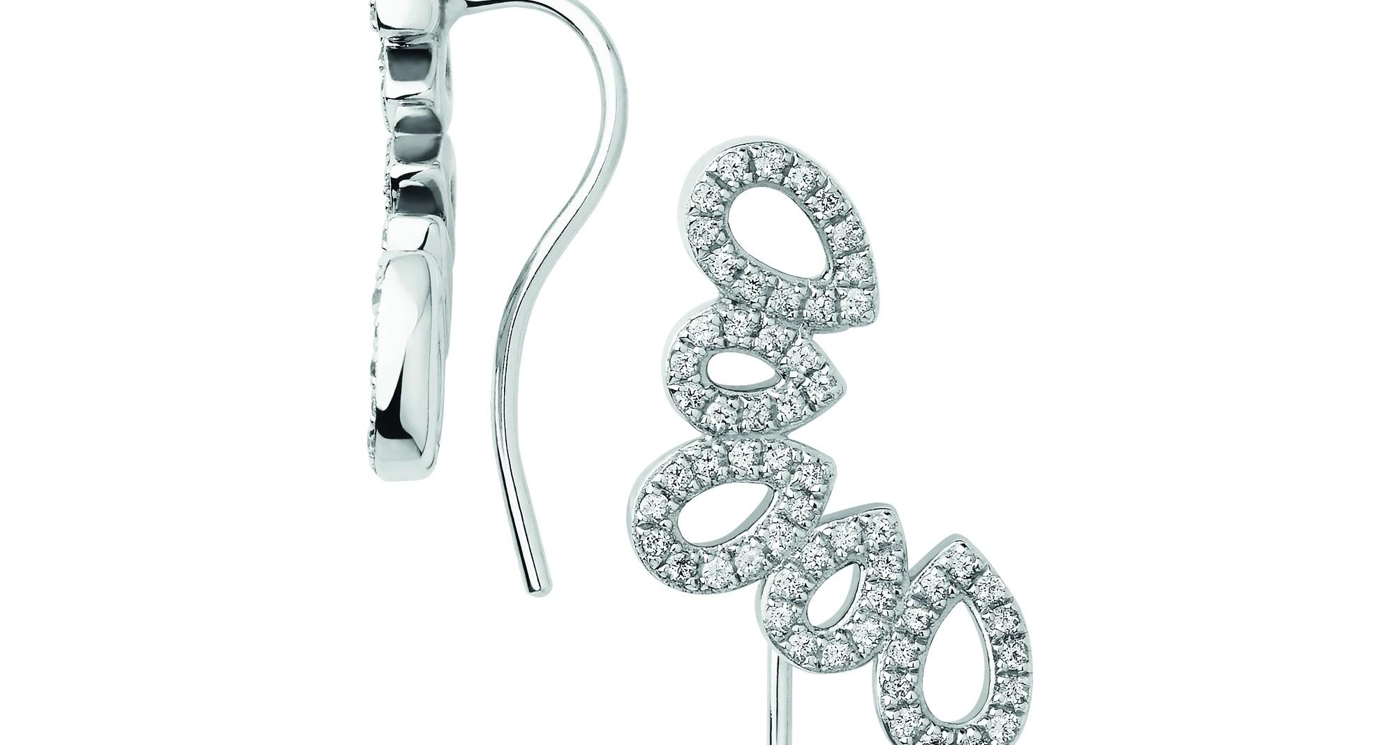 LINKS OF LONDON - Ασημένια σκουλαρίκια με γάντζο Peardrops