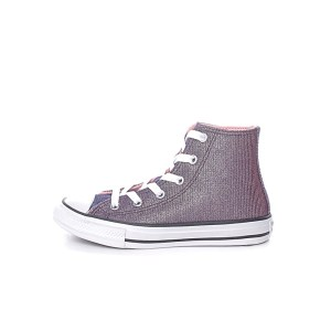 CONVERSE - Παιδικά μποτάκια sneakers CONVERSE CHUCK TAYLOR ALL STAR μoβ