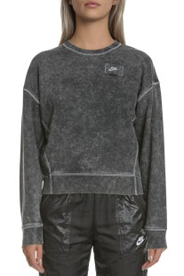 NIKE - Γυναικεία μπλούζα NIKE CREW REBEL μαύρη