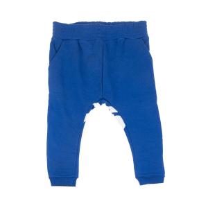 SAM 0-13 - Παιδικό παντελόνι φόρμας με στιλ βράκας SAM 0-13 μπλε