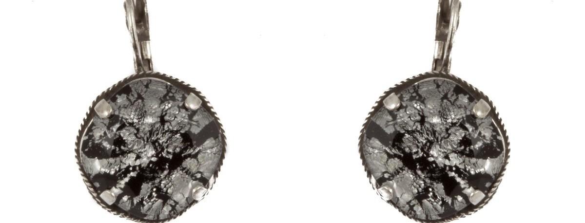 ARTWEAR DIMITRIADIS - Γυναικεία σκουλαρίκια ARTWEAR DIMITRIADIS με πέτρα & στρας