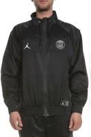 NIKE - Ανδρικό jacket ΝΙΚΕ J PSG AIR JORDAN SUIT JKT μαύρο