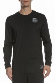 NIKE - Ανδρική μακρυμάνικη μπλούζα NIKE PSG μαύρη