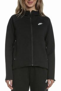 NIKE - Γυναικεία φούτερ ζακέτα NIKE Sportswear μαύρη