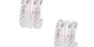 FOLLI FOLLIE - Γυναικεία καρφωτά σκουλαρίκια FOLLI FOLLIE ασημί