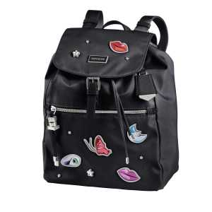 5d0e40de85 SAMSONITE - Γυναικεία τσάντα πλάτης KARISSA SAMSONITE μαύρη