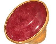 JEWELTUDE - Γυναικείο δαχτυλίδι Μονόπετρο Ορυκτή Πέτρα