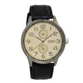 OOZOO - Ανδρικό δερμάτινο ρολόι OOZOO CLASSIC μαύρο image