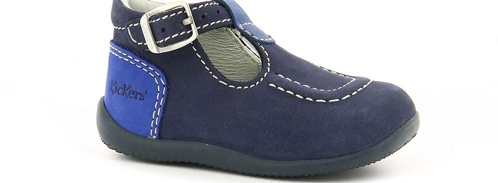 KICKERS - Βρεφικά παπούτσια BONBEK KICKERS μπλε