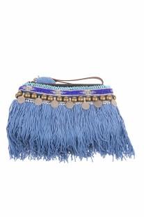 ELLIOT MANN - Γυναικεία τσάντα ELLIOT MANN μπλε