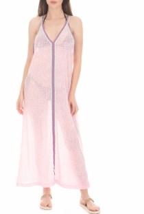 PITUSA - Γυναικείο beachwear φόρεμα PITUSA SUN ροζ