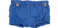 SAM 0-13 - Βρεφικό κοντό παντελόνι με βολάν SAM 0-13 μπλε