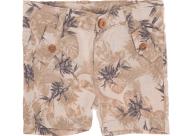 SAM 0-13 - Βρεφικό κοντό παντελόνι SAM 0-13 εμπριμέ