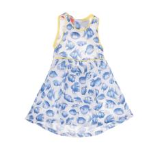 SAM 0-13 - Βρεφικό φόρεμα με ψαράκια SAM 0-13 λευκό-μπλε