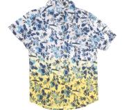 SAM 0-13 - Παιδικό πουκάμισο για μικρά αγόρια SAM 0-13 φλοράλ