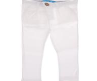 SAM 0-13 - Βρεφικό παντελόνι SAM 0-13 λευκό