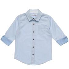 FOX - Παιδικό πουκάμισο για αγόρια FOX γαλάζιο
