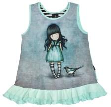 SANTORO Gorjuss - Παιδική αμάνικη μπλούζα SANTORO Gorjuss τιρκουάζ