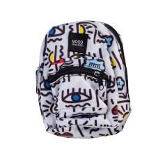 MOOD MAKERS - Μίνι τσάντα μέσης ή μπράτσου MOOD MAKERS λευκή