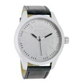 OOZOO - Unisex δερμάτινο ρολόι OOZOO TIMEPIECES γκρι image