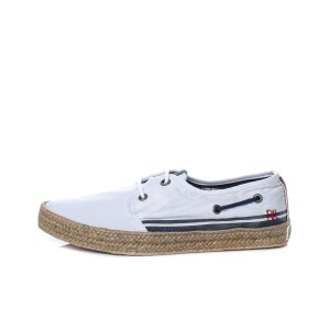 PEPE JEANS - Ανδρικά παπούτσια PEPE JEANS SAILOR DECK CRUISE λευκά