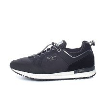 PEPE JEANS - Ανδρικά παπούτσια PEPE JEANS TINKER PRO-BO μαύρα