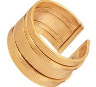 JEWELTUDE - Γυναικείο επίχρυσο δαχτυλίδι Βέρα