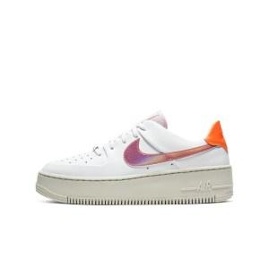 NIKE - Γυναικεία παπούτσια NIKE AF1 SAGE LOW λευκά