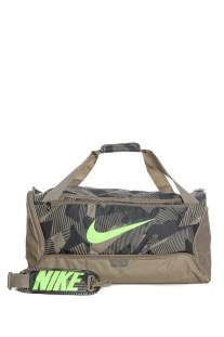 NIKE - Unisex τσάντα NIKE BRSLA M DUFF - 9.0 AOP χακί