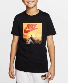 NIKE - Παιδικό t-shirt NIKE AIR PHOTO μαύρο
