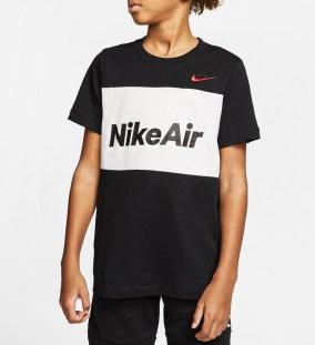 NIKE - Παιδική μπλούζα NIKE AIR TEE μαύρη
