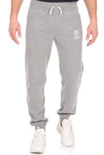 FRANKLIN & MARSHALL - Ανδρικό παντελόνι φόρμας FRANKLIN & MARSHALL CLASSIC γκρι