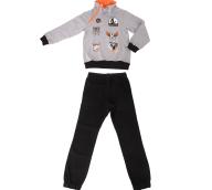 SAM 0-13 - Παιδική φόρμα SAM 0-13 DETROIT LIONS γκρι - μαύρη