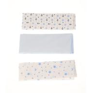 SAM 0-13 - Βρεφικές πάνες σετ των 3 SAM 0-13 μπλε-λευκό